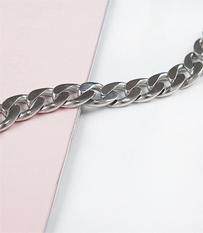 Steel Middle Chain Bracelet